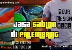 Jasa Sablon di Palembang